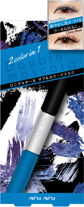 01 クラッシーブラック/スペースブルー